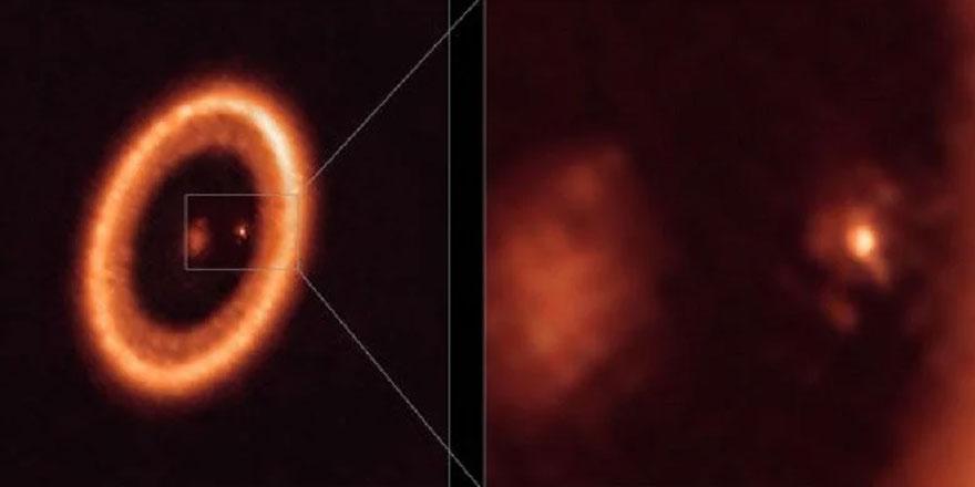 İlk kez bir gezegenin uydusunun yaratılışı gözlemlendi
