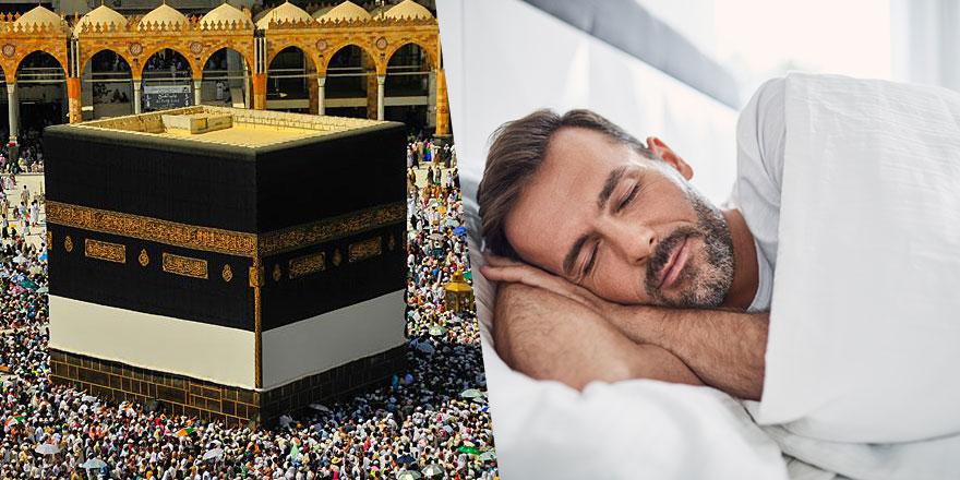 Uyurken ayakları kıbleye uzatmak günah mı?