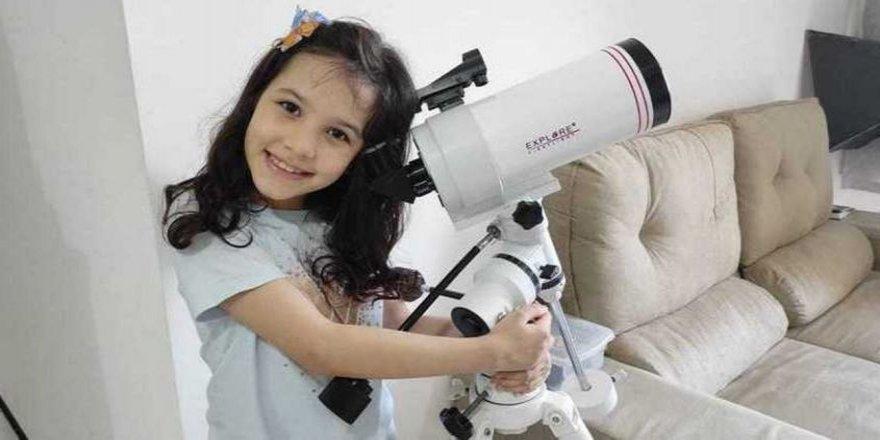 7 yaşında 7 asteroit keşfetti