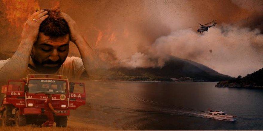 43 yangın kontrol altında 20 noktada yangınlar sürüyor
