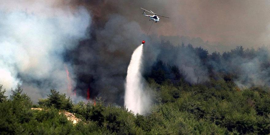 85 adet orman yangınının 74 tanesi kontrol altına alındı