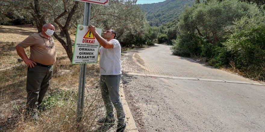 Bazı illerde ormanlık alanlara girişler yasaklandı