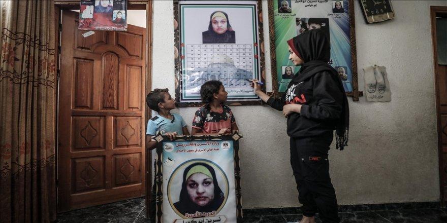 İsrail cezaevindeki Filistinli annenin 7 çocuğu 6 yıldır göremedikleri annelerine kavuşmak için gün sayıyor