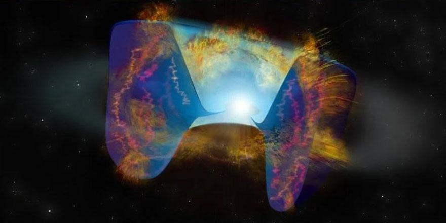 Ölü ve canlı yıldızlar çarpıştı yeni bir süpernova yaratıldı