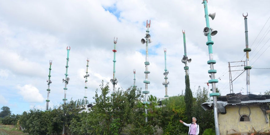 Samsun'da görenleri şaşırtan 10 minareli mescit