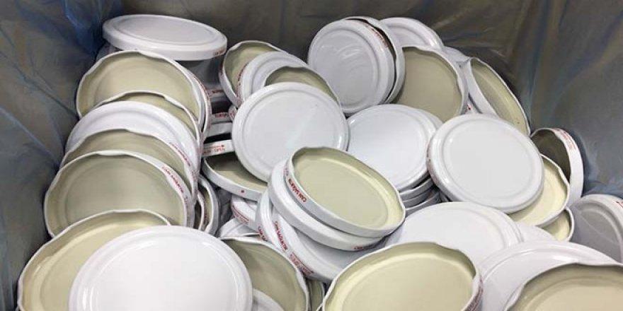 Gıda fiyatları artınca konserve kapakları elde kaldı