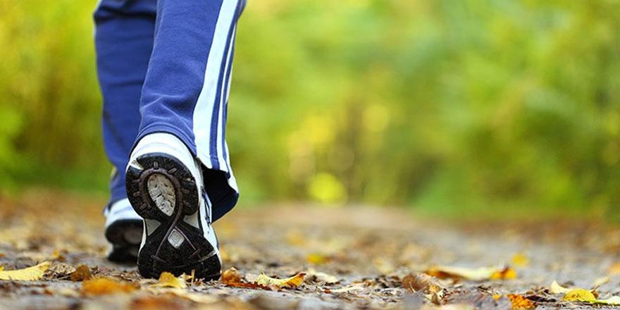 Günde 7 bin adım atmak sağlıklı yaşam için yeterli