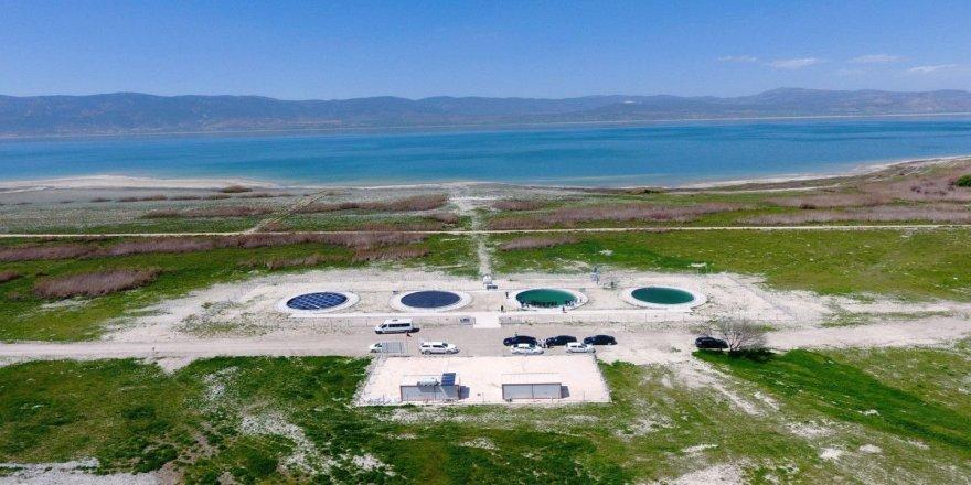 Burdur Gölü'ndeki kuraklığa karşı güneş panelleri kullanılacak