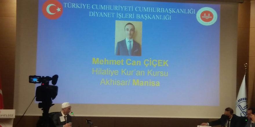 Türkiye Hafızlık Yarışması'nın birincisi Akhisar Hilaliye'den