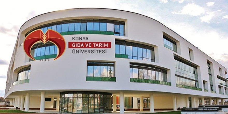 Konya Gıda ve Tarım Üniversitesi'nin ilk mezunları işe başladı