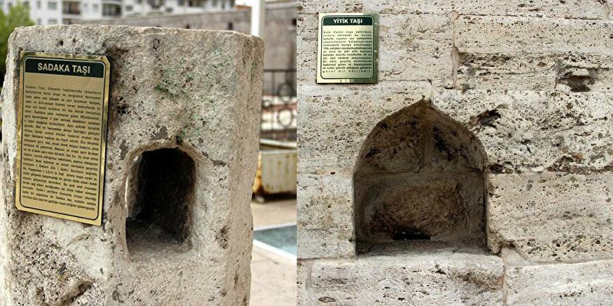 Osmanlı mimarisindeki iki taşın dikkat çeken özelliği