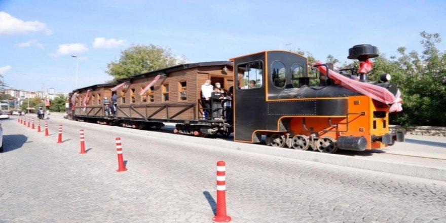 Kağıthane Treni bir asır sonra yeniden raylarda