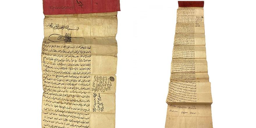 Fatih Sultan Mehmet tuğralı vakfiyenin satışı durduruldu