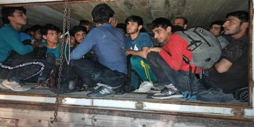 Ankara'da 92 düzensiz göçmen yakalandı