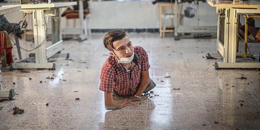 İdlibli Ahmed Deyyub protez bacaklara kavuşup işe yürüyerek gitmeyi istiyor
