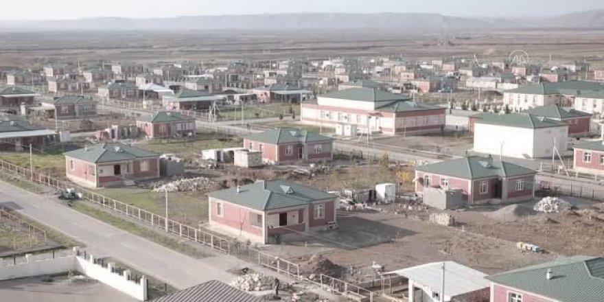 """Azerbaycan işgalden kurtardığı Zengilan'da """"akıllı köy"""" kuruyor"""