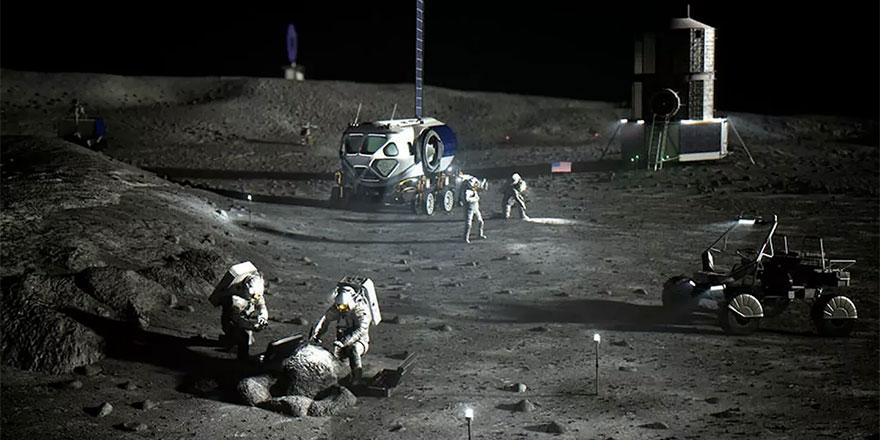 NASA, Ay'da Wi-Fi ağının nasıl kurulacağını araştırıyor