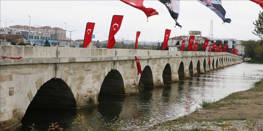 Restorasyonu tamamlanan Silivri Mimar Sinan Köprüsü ile Kısa Köprü açıldı