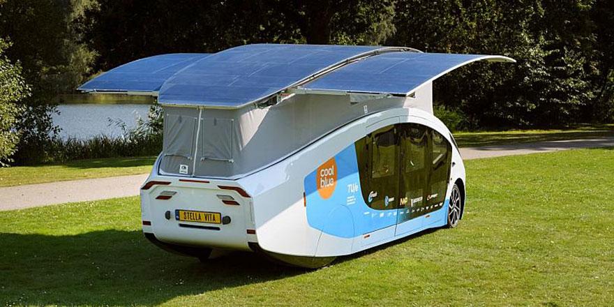 Sadece Güneş enerjisiyle çalışan karavan 2000 kilometre yol katetti, 120 km hıza ulaştı