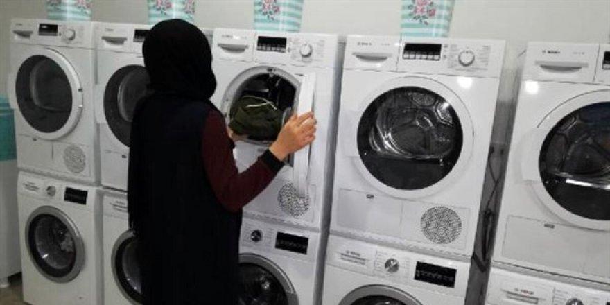 Bu şehirde üniversite öğrencilerinin çamaşırları ücretsiz yıkanıyor