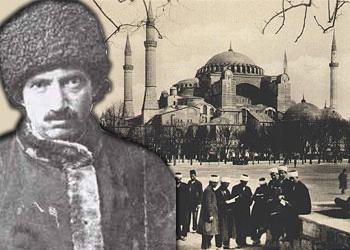 Said Nursi Ayasofya'da konuşma yaptı