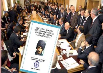 TBMM'de Said Nursi ve anayasa sunumu