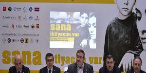 Suriye için 'Sana İhtiyacım Var' kampanyası başladı