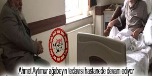 Hastanede Risale-i Nur'dan özellikle o dersi okuyor