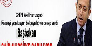CHP: Başbakan Said Nursi'ye sarılıyor