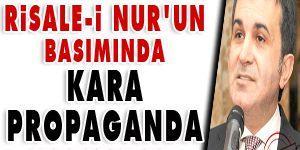 Risale-i Nur'un basımında kara propaganda yapılıyor