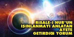 Risale-i Nur'un ışınlanmayı anlatan ayete getirdiği yorum
