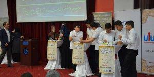 Liselilerin Osmanlıca yarışmasının birincisi belli oldu