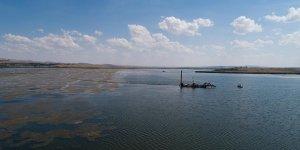Mogan Gölü'nde geniş çaplı temizlik