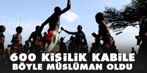 Senegal'deki 600 kişilik kabile böyle Müslüman oldu