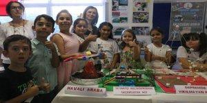 50 ilkokul öğrencisi yaz tatilini mühendislik çalışması ile geçirdi