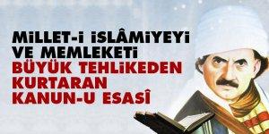 Bediüzzaman: Millet-i İslâmiyeyi ve memleketi büyük tehlikeden kurtaran kanun-u esasî