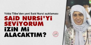Yıldız Tilbe: Said Nursi'yi seviyorum, izin mi alacaktım?
