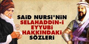 Said Nursi'nin Selahaddin-i Eyyubi hakkındaki sözleri