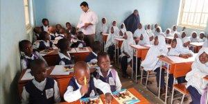Yardımları Türkiye'den gelen okul eğitime başladı
