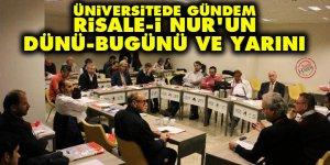 Üniversitede gündem: Risale-i Nur'un dünü, bugünü ve yarını