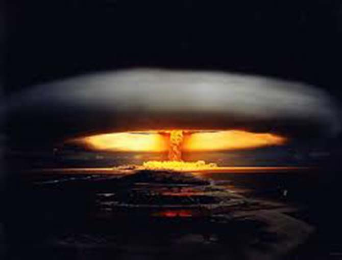 Kıyamet - Atom Bombası