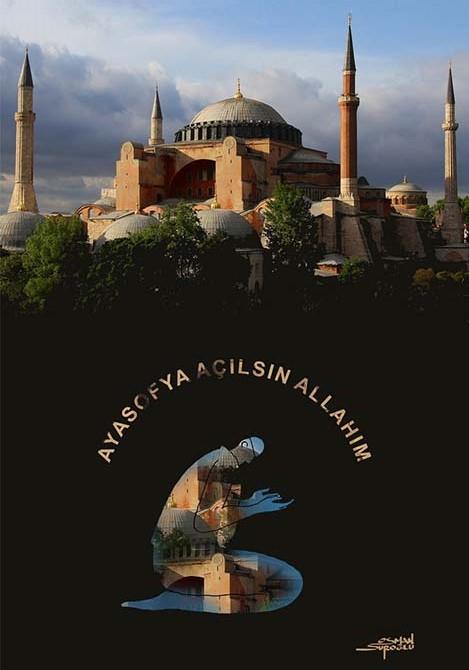 Osman Suroğlu Karikatür Ayasofya