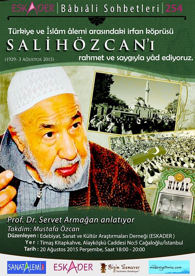 Bediüzzaman Said Nursinin talebelerinden Seyyid Salih Özcan Ağabey Eskader Anma Programı